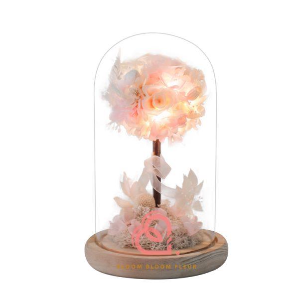保鮮花花樹(粉紅色)