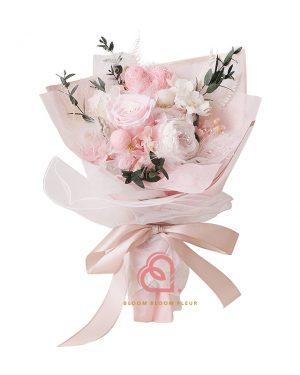 保鮮花花束(粉紅色)