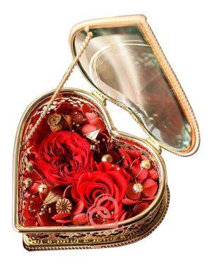 心形形介子盒(紅色)