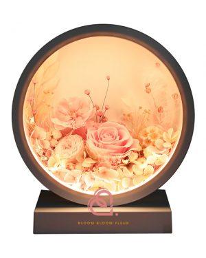 自訂圓形燈罩枱燈