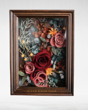 Preserved Flowers in Frame
